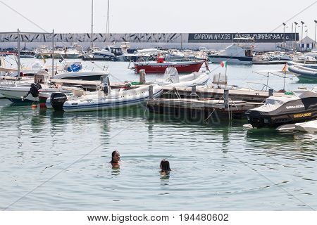 Urban Port Of Giardini Naxos City