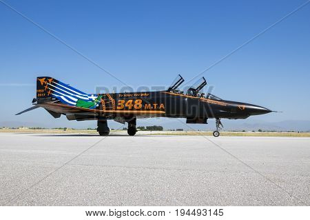 Greek Air Force F4 Phantom Jet Plane