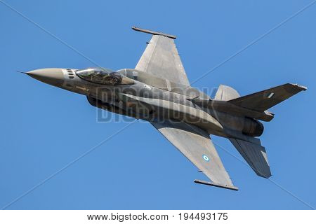Greek Air Force F16 Fighter Jet