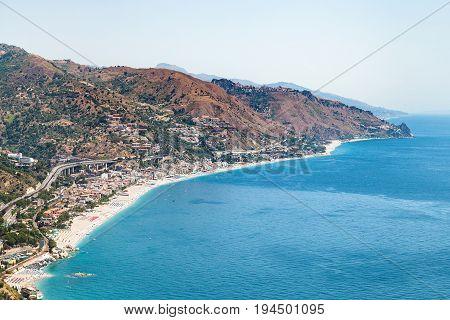Letojanni Resort Village Of Coast Of Ionian Sea