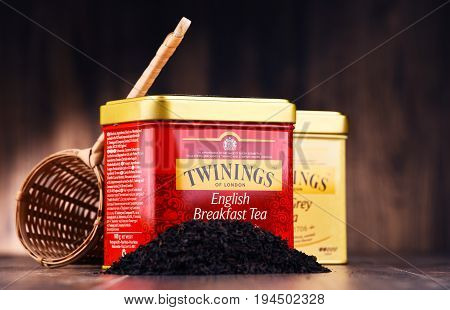 Boxes Of Twinings Tea