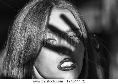 Sensual Young Woman Or Girl