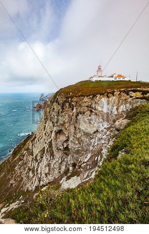 A View Of The Lighthouse From Cape Rock