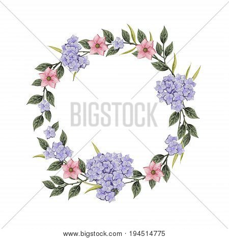Floral card. Bouquet of roses, and anemone. Vintage vector illustration. Classic. pastel color. wreath shape with phrase Spirit of. for textile, t shirts, greetings card