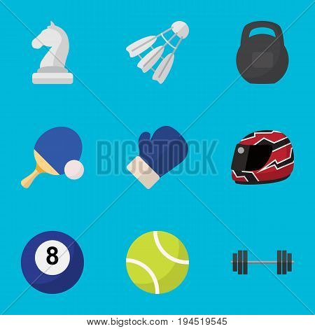 Set Of 9 Editable Lifestyle Icons. Includes Symbols Such As Strategic, Billiards, Tennis And More. Can Be Used For Web, Mobile, UI And Infographic Design.