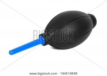 Air blower for cleaning the camera sensor isolated on white background with clipping path