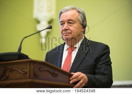 Un Secretary-general Antonio Guterres