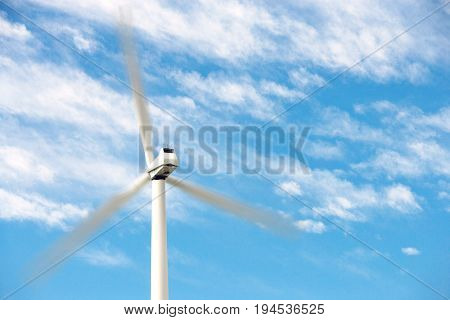 Wind turbine at wind farm