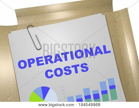 Operational Costs Concept
