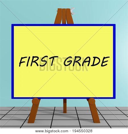 First Grade Concept