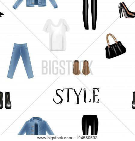 Fashion Vector Vector Photo Free Trial Bigstock