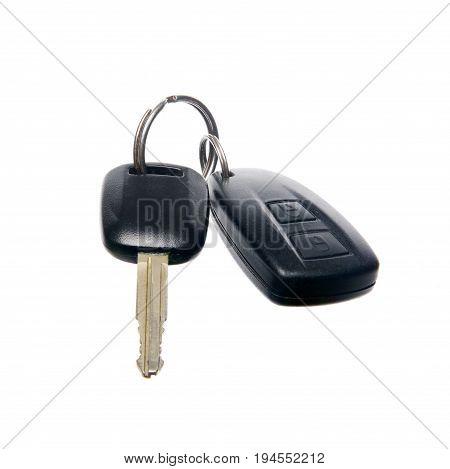 Car Key. Car key with remote control.