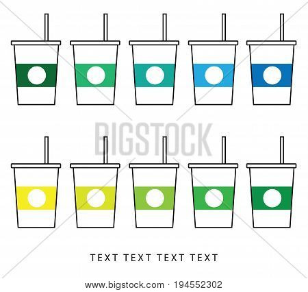 Vector coffee mug, coffee mug icon, coffee mug, idea