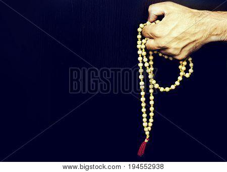 Rosary Of Sandalwood Beads 108