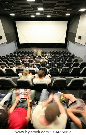 People in a Cinema Hall