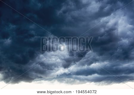Beautiful And Bleak White And Grey Clouds