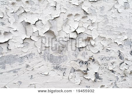 White painted wall surface texture