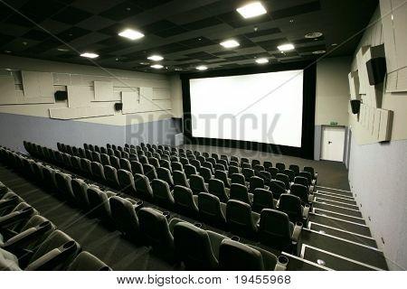 Cinema hall in a modern multiplex