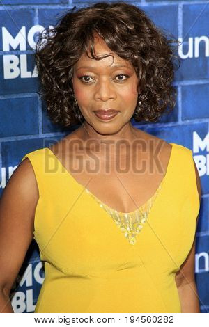 LOS ANGELES - FEB 23:  Alfre Woodard at the Pre-Oscar charity brunch by Montblanc & UNICEF at Hotel Bel-Air on February 23, 2013 in Los Angeles, CA