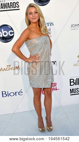 LAS VEGAS - MAY 20:  Julianne Hough at the 2012 Billboard Music Awards at the MGM Grand Garden Arena on May 20, 2012 in Las Vegas, NV