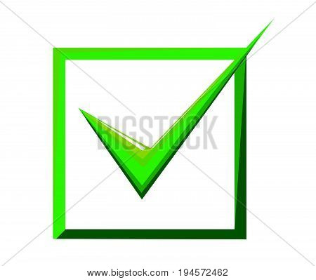 Ticket box vector illustration on white background