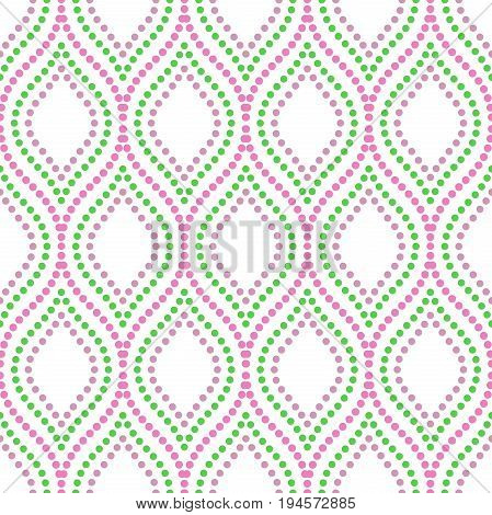 Seamless vector ornament. Modern background. Geometric modern pattern