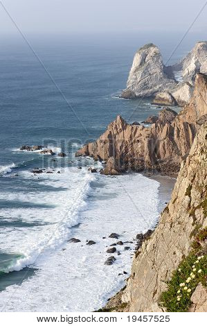 Cliff At Cabo Da Roca