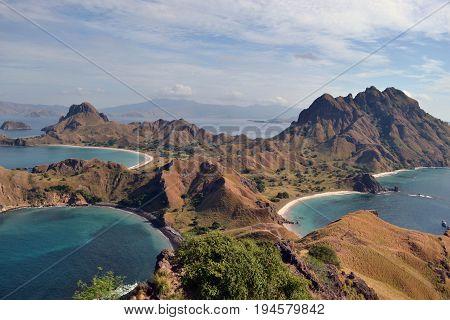 Padar Island In Indonesia