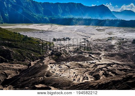 Bromo Tengger Semeru National Park Indonesia Is Destination For Many People