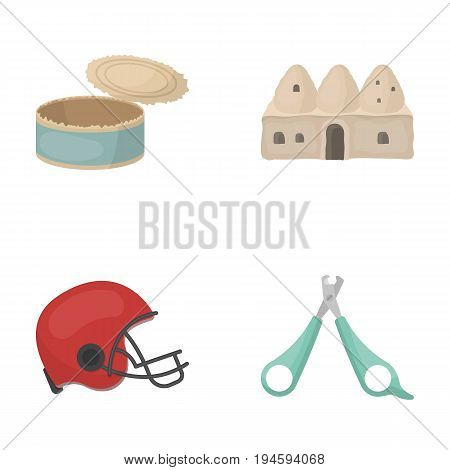 travel, tourism, ecology and other  icon in cartoon style. tool, accommodation, sports, icons in set collection
