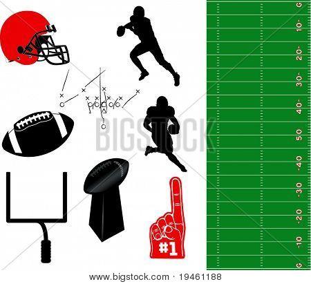 Football Vector Elements