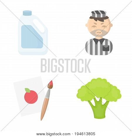 useful, business, ecology and other  icon in cartoon style.cabbage, color, vegetables, icons in set collection.