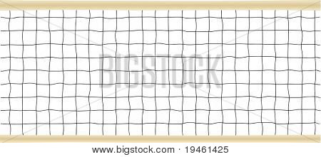 Tennis or Volleyball Net Vector illustration.  PATTERN IS DESIGNED TO BE REPEATED HORIZONTALLY