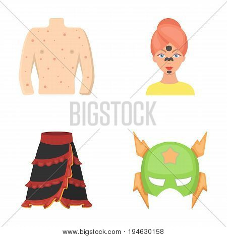 travel, textiles, medicine and other  icon in cartoon style.film, fantasy, business icons in set collection.