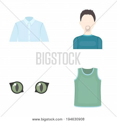 textiles, business, hairdresser and other  icon in cartoon style., fashion, dress code, icons in set collection.