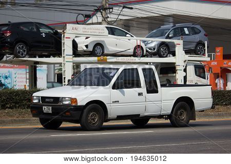 Private Isuzu  Pickup Truck.