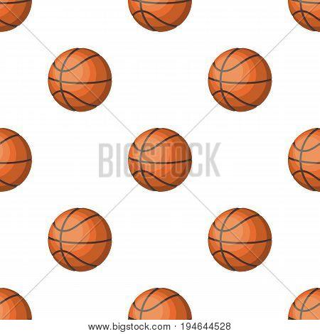 basketball.Basketball pattern icon in cartoon style vector symbol stock illustration .