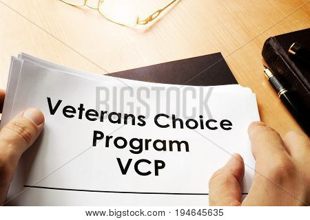 Document with name Veterans Choice Program VCP.