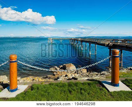 Seawalk in Sidney Vancouver Island British Columbia