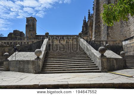 Templar Church Of The Convent Of The Order Of Christ In Tomar Portugal
