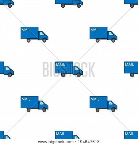 Mail machine.Mail and postman pattern icon in cartoon style vector symbol stock illustration .