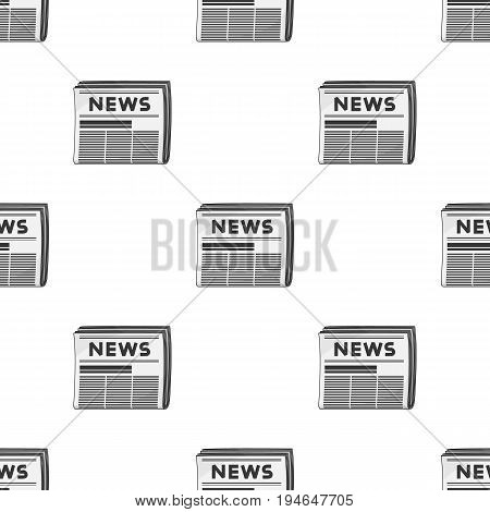 Newspaper.Mail and postman pattern icon in cartoon style vector symbol stock illustration .