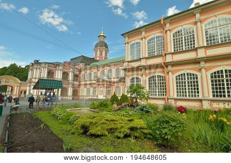 25.06.2017Russia.Saint-Petersburg.Alexander Nevsky Lavra. is the first Christian monastery built in the city.