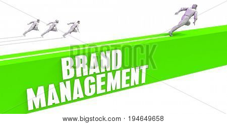 Brand Management as a Fast Track To Success 3D Render