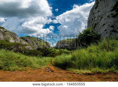 The Black Rocks of Pungo Andongo, Malanje, Angola
