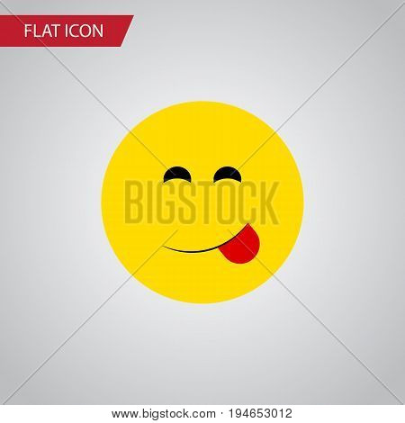 Isolated Savoring Flat Icon. Delicious Food Vector Element Can Be Used For Savoring, Delicious, Food Design Concept.