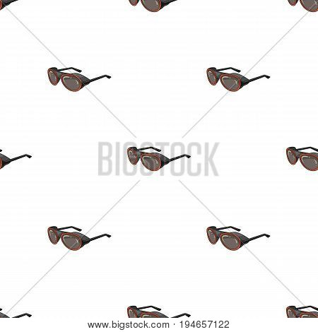 Protective glasses.Mountaineering single icon in cartoon style vector symbol stock illustration .