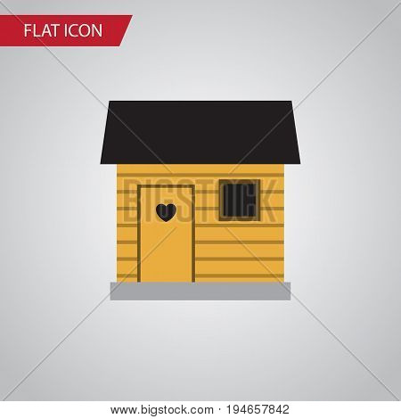Isolated Barn Flat Icon. Stabling Vector Element Can Be Used For Stabling, Barn, Farmhouse Design Concept.