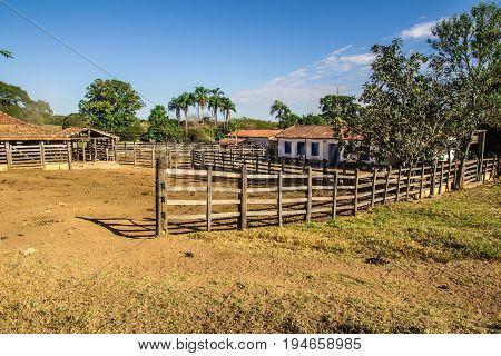 Corral. Brazilian Farm