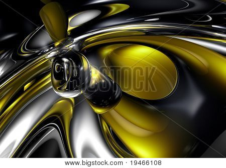 Yellow Space (abstract)